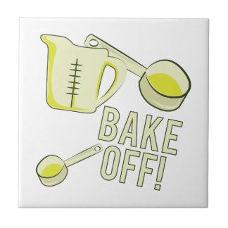 Bake Off Small Square Tile