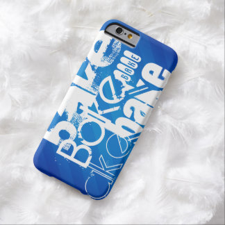 Bake; Royal Blue Stripes Barely There iPhone 6 Case