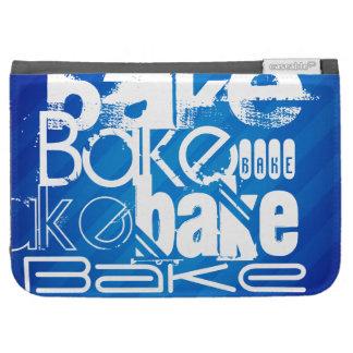 Bake; Royal Blue Stripes Kindle Keyboard Case