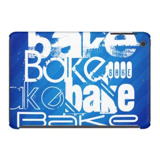 Bake; Royal Blue Stripes iPad Mini Cases