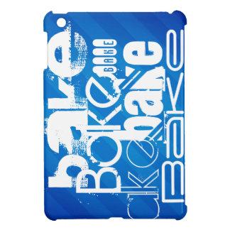 Bake; Royal Blue Stripes Case For The iPad Mini