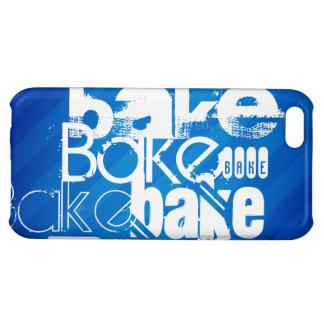 Bake; Royal Blue Stripes iPhone 5C Case