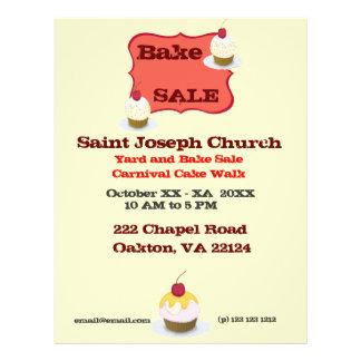 Bake Sale 21.5 Cm X 28 Cm Flyer