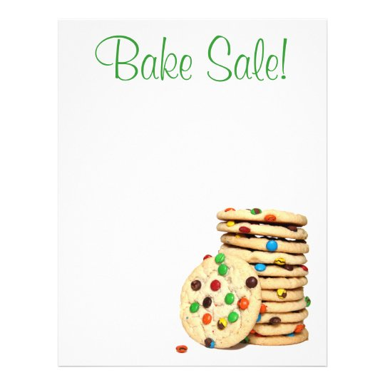 bake sale flyers free flyer designs - 540×540
