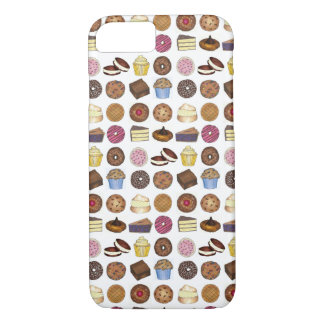 Bake Sale Goods Pastry Chef Cupcake Pie Treats iPhone 8/7 Case