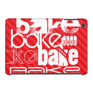 Bake; Scarlet Red Stripes iPad Mini Retina Cover