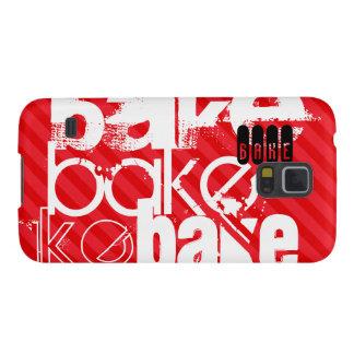 Bake; Scarlet Red Stripes Galaxy S5 Case