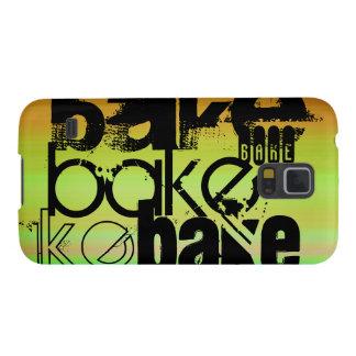 Bake; Vibrant Green, Orange, & Yellow Galaxy S5 Covers