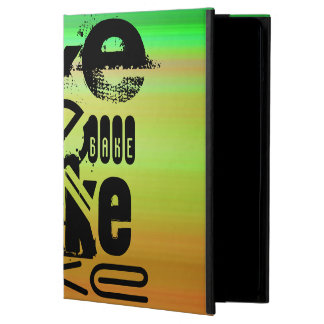Bake; Vibrant Green, Orange, & Yellow Case For iPad Air