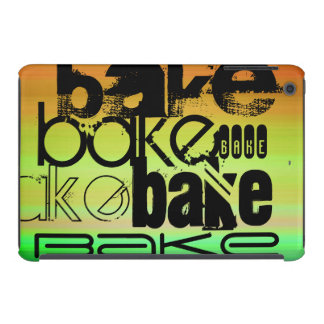 Bake; Vibrant Green, Orange, & Yellow iPad Mini Retina Covers