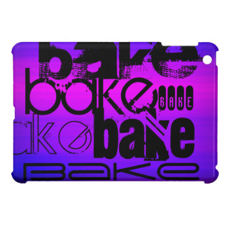 Bake; Vibrant Violet Blue and Magenta Case For The iPad Mini
