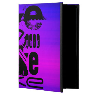 Bake; Vibrant Violet Blue and Magenta iPad Air Cases