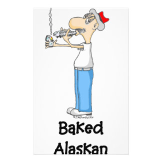 BAKED ALASKAN CUSTOM STATIONERY