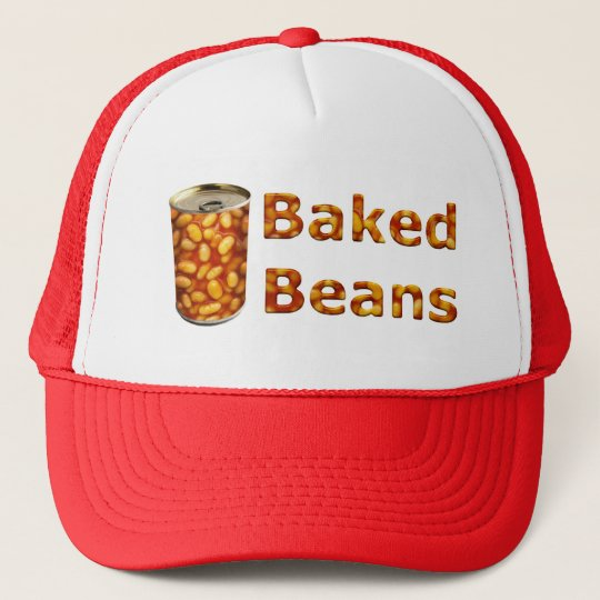 Baked Beans Can Trucker Hat