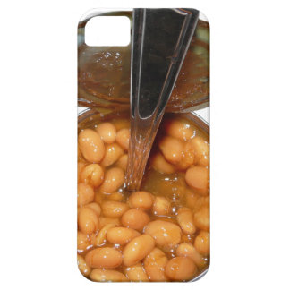 Baked Beans in Tin Can with Spoon iPhone 5 Covers