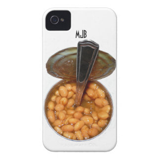 Baked Beans in Tin Can with Spoon iPhone 4 Case
