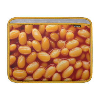 Baked beans on MacBook Air 13ins sleeve