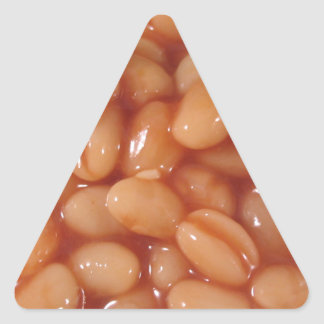 Baked Beans Triangle Sticker