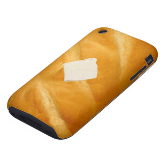 baked bread and butter iphone case
