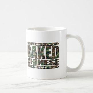 BAKED CHINESE - I Am Expert Dragon Chaser, Camo Basic White Mug