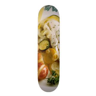 Baked Fish Dinner 18.1 Cm Old School Skateboard Deck