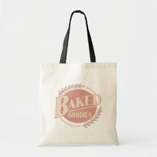 Baked Goodies - Baker Baking Bakery Budget Tote Bag
