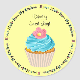 Baked Goods Cupcake Sticker Stickers