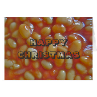 Baked Means Happy Christmas Card