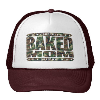 BAKED MOM - I'm A Domestic Brownie Baking Goddess Cap
