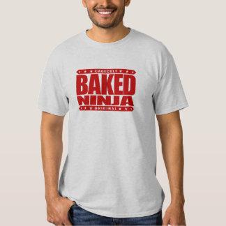 BAKED NINJA - Illusive Green Smoke Serpent Warrior Shirts