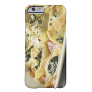 Baked pasta shells with spinach filling barely there iPhone 6 case