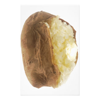 Baked Potato Personalized Stationery