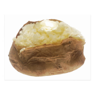 Baked Potato Postcard