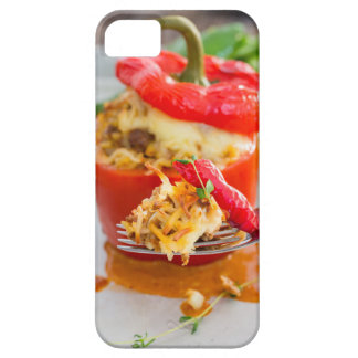 Baked stuffed peppers with meat sauce and cheese iPhone 5 covers