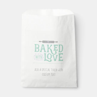 Baked With Love Favor Bags