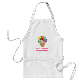 Baked with Love in Momma's Kitchen Standard Apron