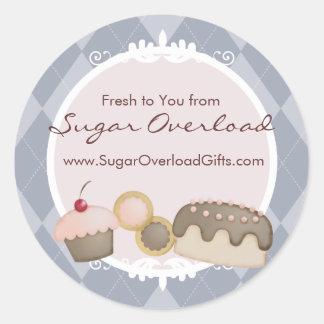 baker baking cupcake cookies cake gift stickers