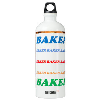 BAKER Biscuits Cookies Cake Pastry Icecream FUN JO SIGG Traveller 1.0L Water Bottle