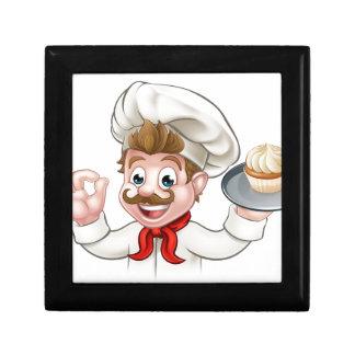 Baker Chef Cake Cartoon Character Gift Box