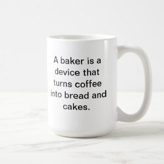 Baker coffee cup