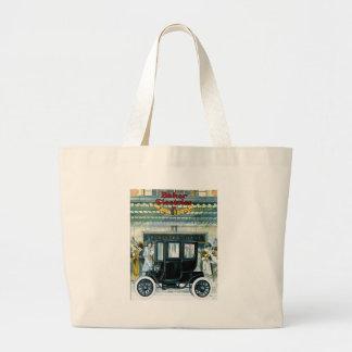 Baker Electric Cars - Vintage Ad Jumbo Tote Bag