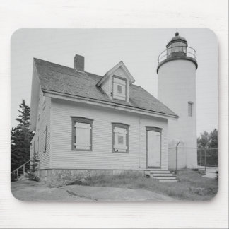 Baker Island Lighthouse Mouse Pad