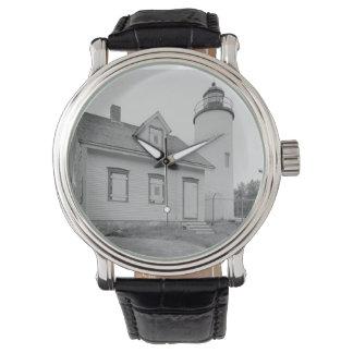 Baker Island Lighthouse Wrist Watches