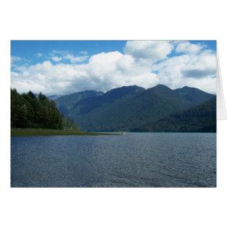 Baker Lake Greeting Card