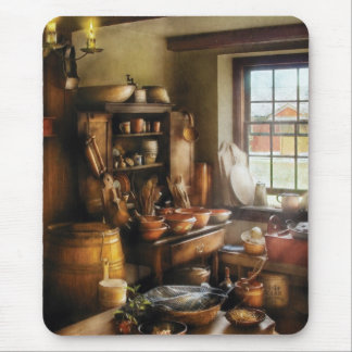 Baker - Nothing like home cooking Mouse Pad