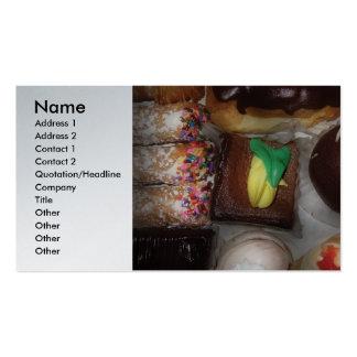 Baker - Oh Boy! Pack Of Standard Business Cards