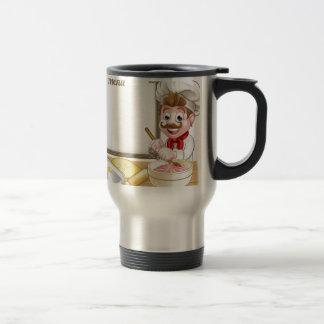 Baker or Pastry Chef Menu Sign Travel Mug