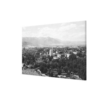 Baker, Oregon Town View PhotographBaker, OR Canvas Print
