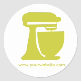 Baker Personal-Cook Round Sticker