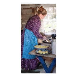 Baker - Preparing Dinner Picture Card